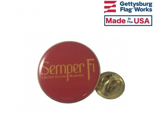 SemperFi Lapel Pin