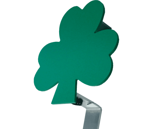shamrock flag holder