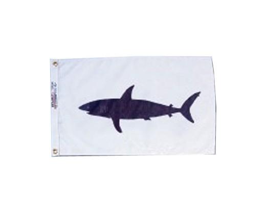 """Shark Flag - 12x18"""""""