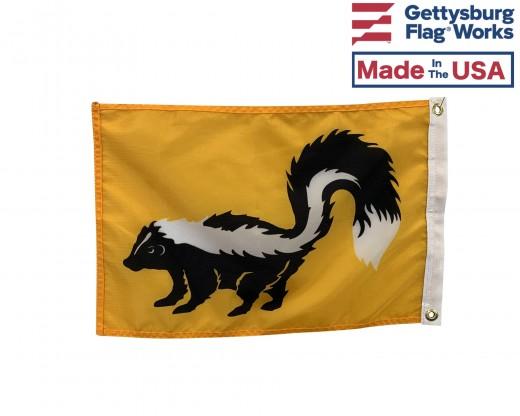 "Skunk Flag - 12x18"""