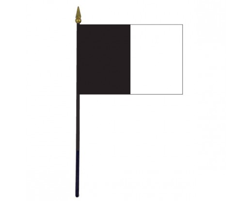 Sligo County Stick Flag (Ireland) - 4x6""