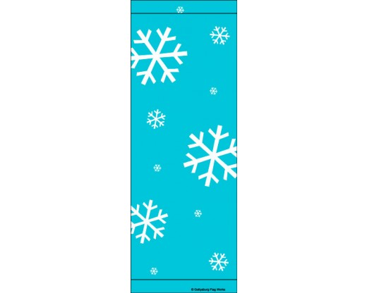 Snowflakes Avenue Banner