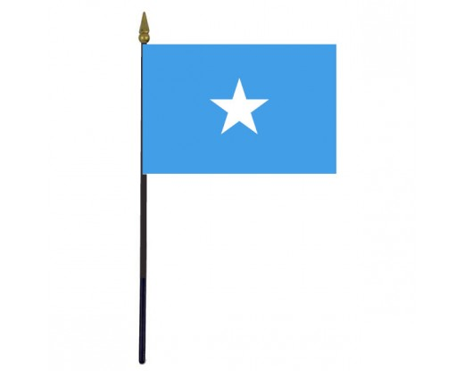"""Somalia Stick Flag - 4x6"""""""