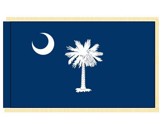 South Carolina Flag - Indoor