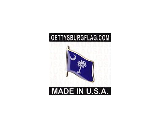 South Carolina State Flag Lapel Pin
