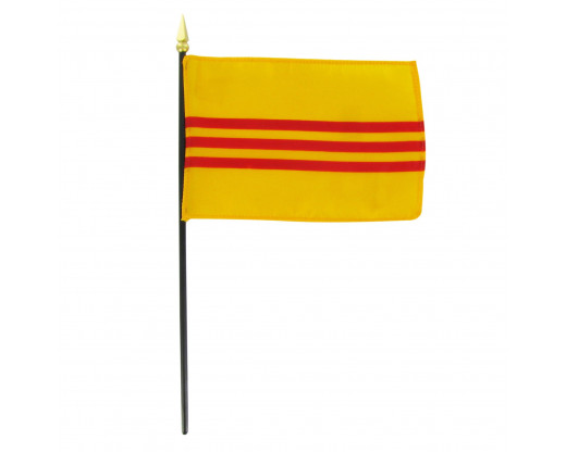 South Vietnam Stick Flag