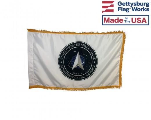 U.S. SPACE FORCE FLAG-INDOOR