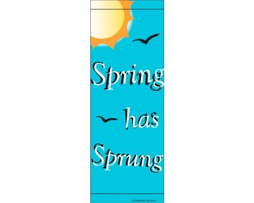Spring Sun Avenue Banner