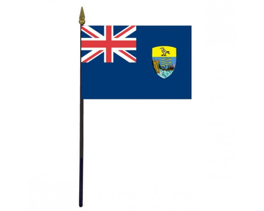 St. Helena Stick Flag - 4x6""