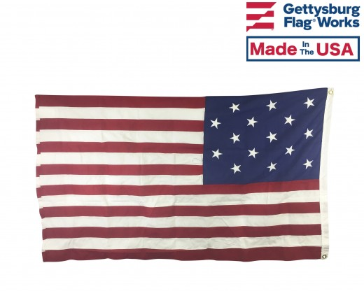 Star Spangled Banner Flag back