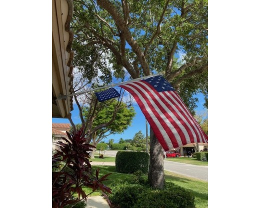 US Navy Union Jack with Star Spangled Banner Flag