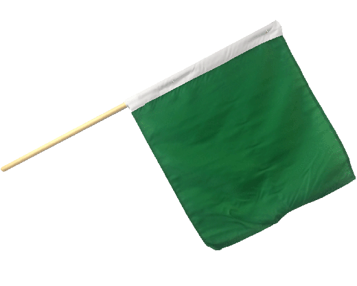 Motorcycle Racing Start Flag