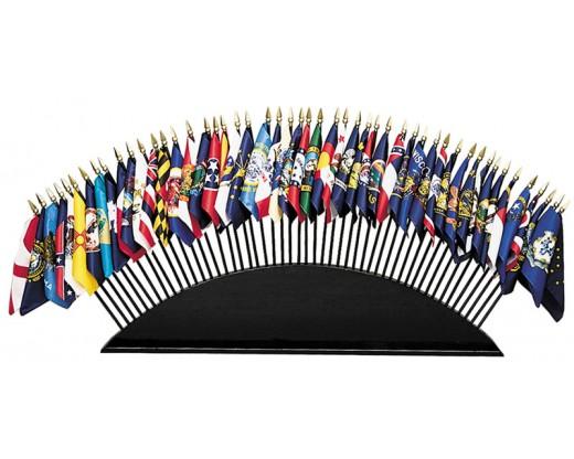 50 States Stick Flag Set
