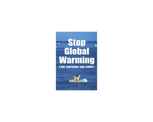 Global Warming House Banner