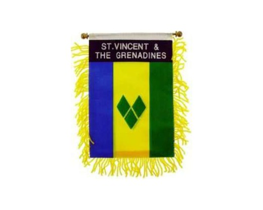 St. Vincent Mini Window Banner