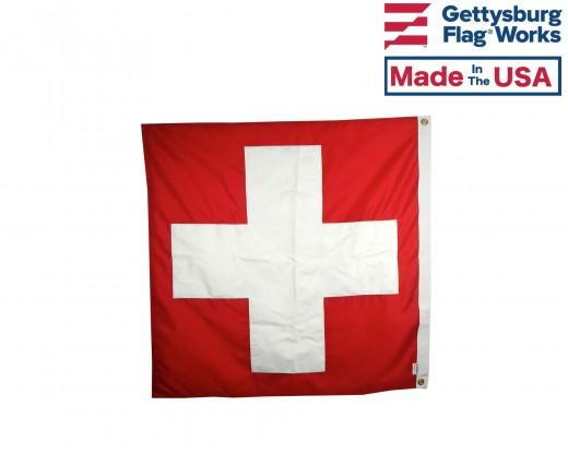 Square Switzerland Flag