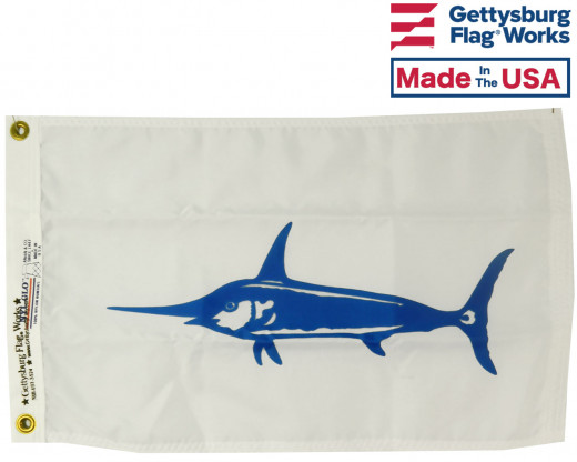Swordfish Flag - 12x18""
