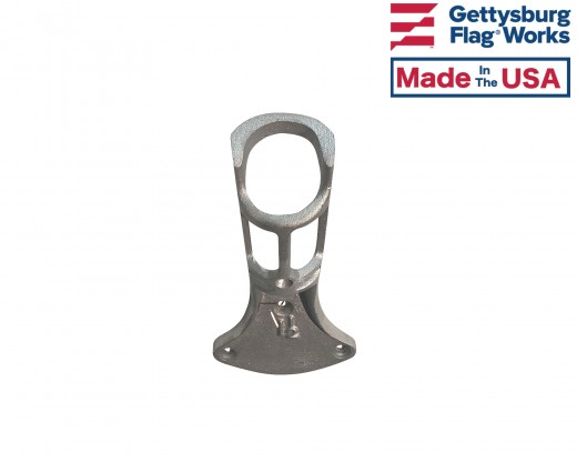 Cast aluminum oversized bracket