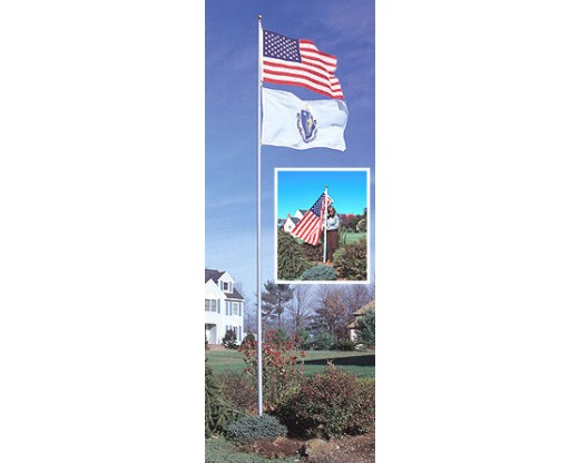 Aluminum Telescoping Flag Pole