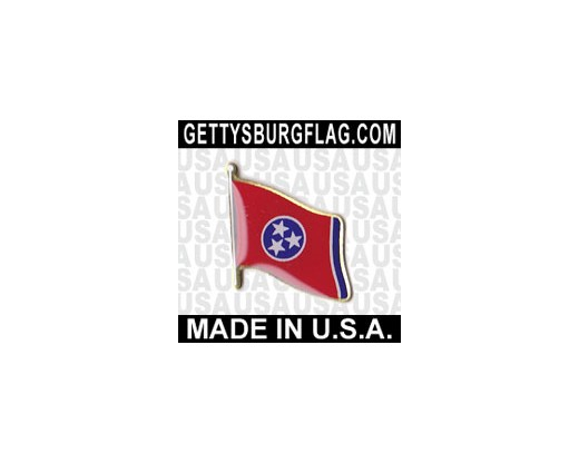 Tennessee State Flag Lapel Pin