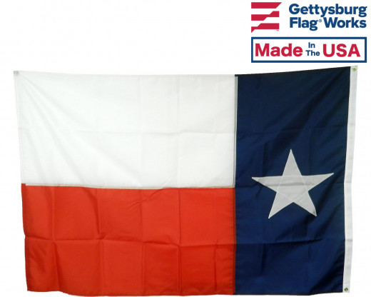 Back of Texas Flag