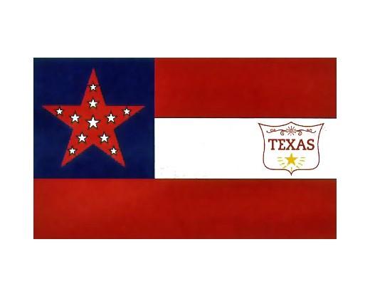 Texas Regiment Flag - 3x5'
