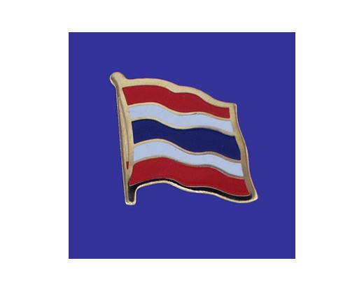 Thailand Lapel Pin (Single Waving Flag)