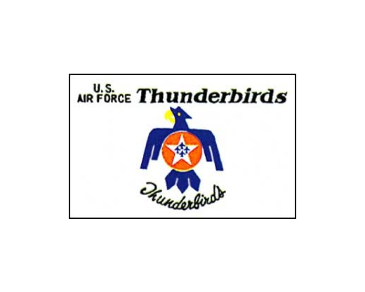 Thunderbirds Flag - 3x5'