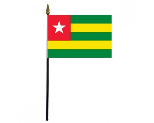 """Togo Stick Flag - 4x6"""""""