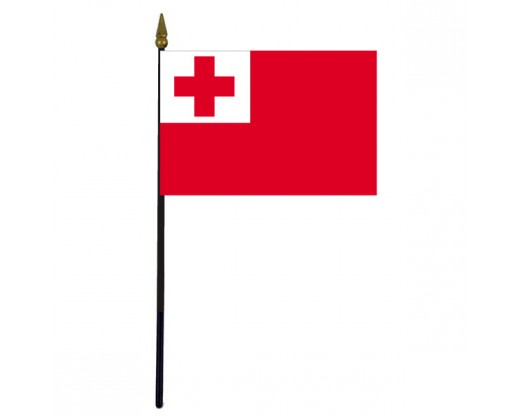 "Tonga Stick Flag - 4x6"""