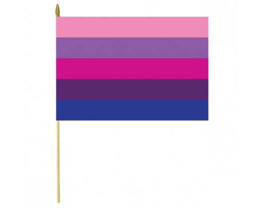 Transgender Stick Flag - 12x18""
