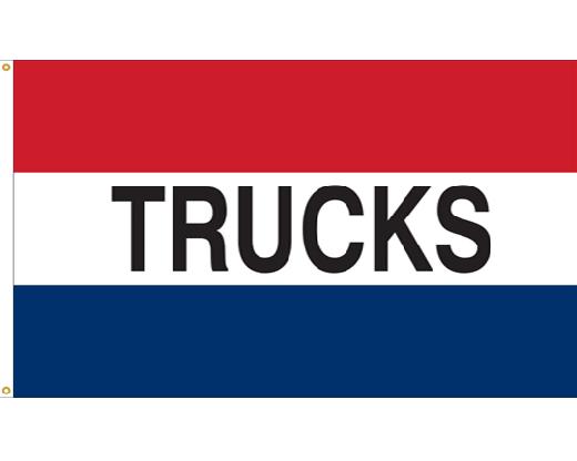 Trucks Flag