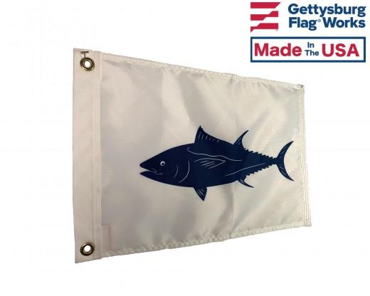 "Tuna Flag - 12x18"""