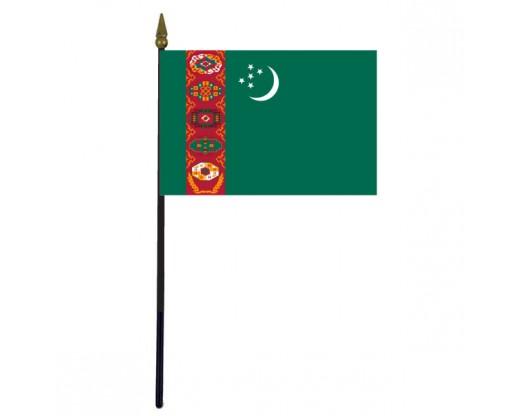 Turkmenistan Stick Flag