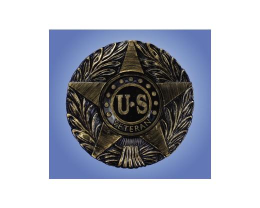 US Veteran Thermoplastic Bronze Grave Marker