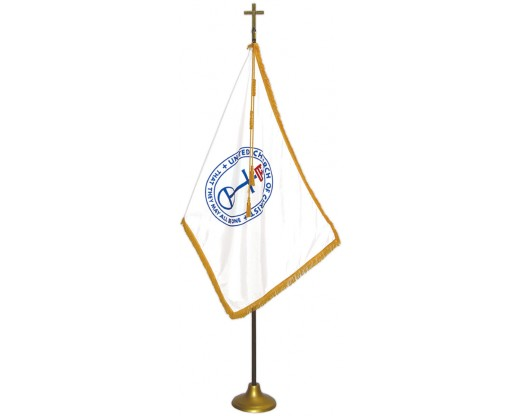 United Church of Christ Indoor Flag Set