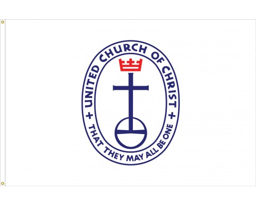 United Church of Christ Outdoor Flag 4x6