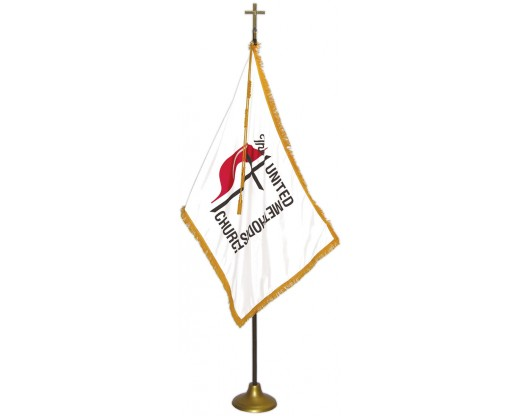 United Methodist Indoor Flag Set