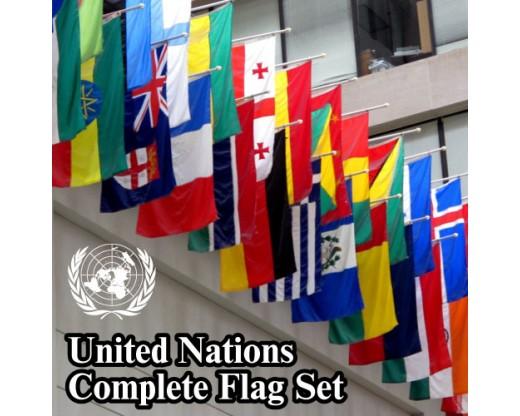 United Nations Un Flag Set