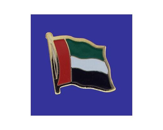 United Arab Emirates Lapel Pin (Single Waving Flag)