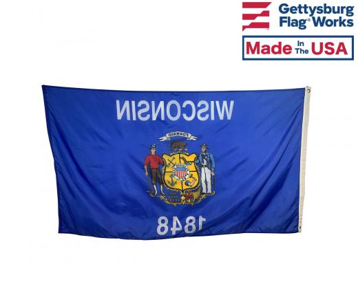 Wisconsin Flag - outdoor