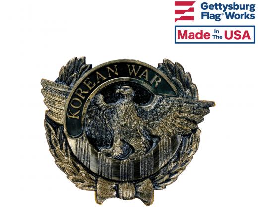 Korean Eagle Thermoplastic Bronze Grave Marker