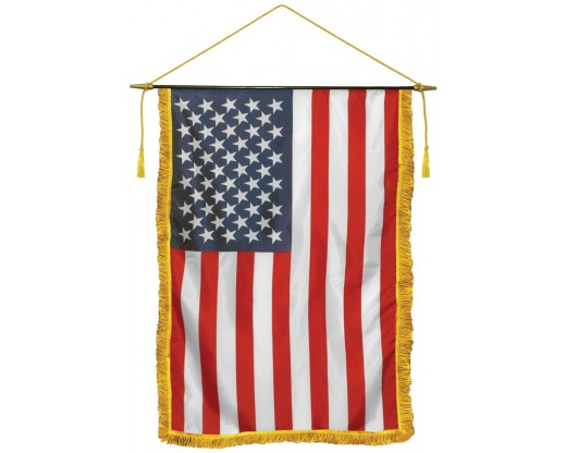 American Classroom Banner with fringe