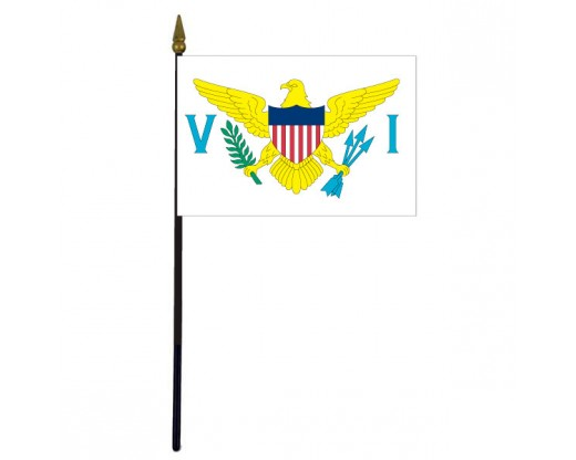 Virgin Islands Stick Flag