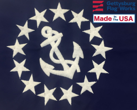 US Yacht Ensign Embroidery