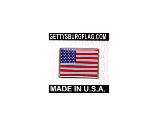 USA Lapel Pin (Single Rectangle Flag)