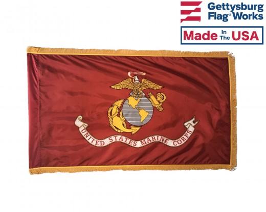 USMC Flag Front Fringe