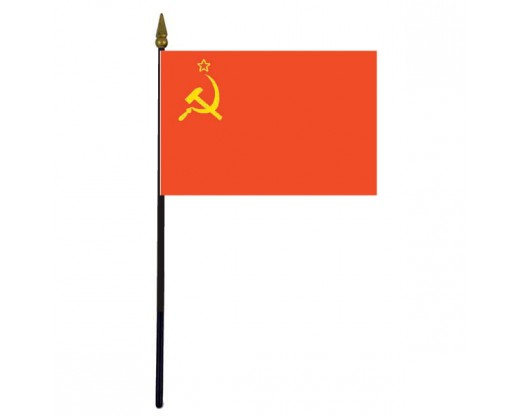 USSR Stick Flag - 4x6""