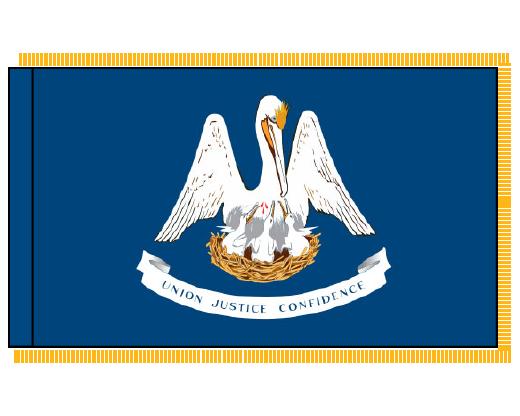Louisiana Flag - Indoor