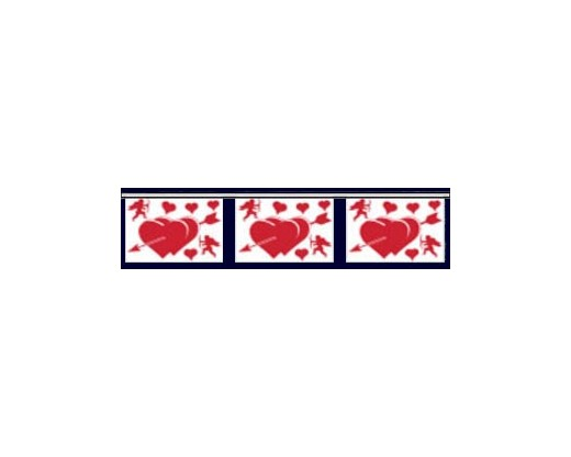 Valentine Hearts Pennants
